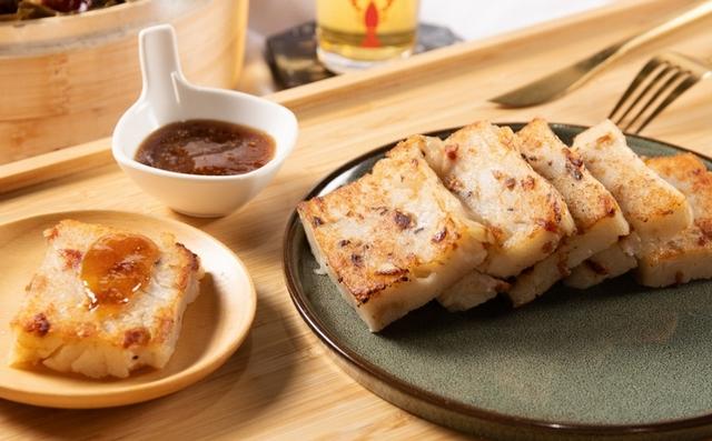 台南富信大飯店:臘味蘿蔔糕