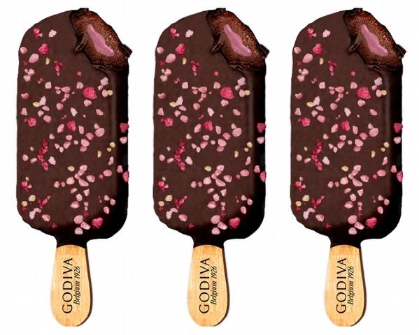 GODIVA 草莓脆碎黑巧克力雪糕 99元