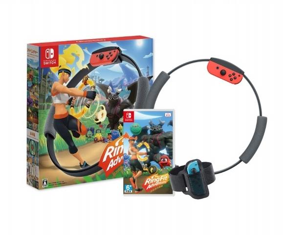 Nintendo Switch 健身環大冒險中文版遊戲組合 309元