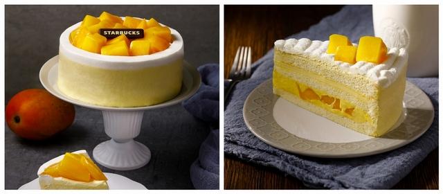 6吋芒果布蕾戚風蛋糕
