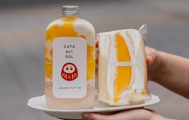 芒果舒芙蕾三明治套餐 300元(含楊枝甘露)