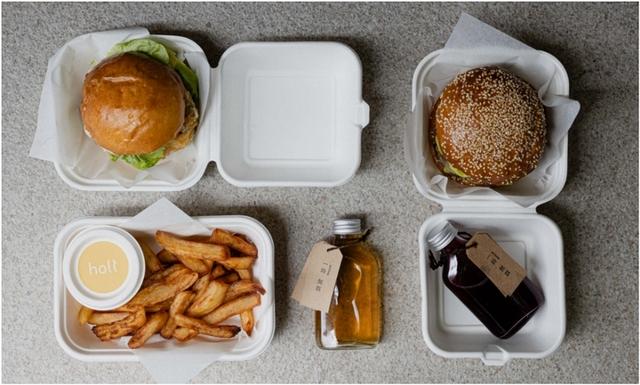 Holt Sandwich and Bubble 雙人餐 1,480元