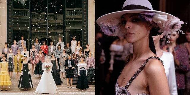 Chanel秋冬高訂 走入印象派畫中的詩意 絕美造型一次看!