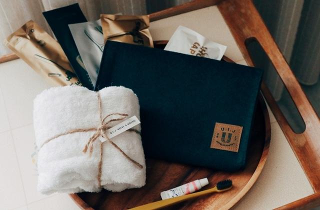 U.I.J Hotel & Hostel 友愛街旅館訂製毛氈盥洗包、純棉毛巾、專屬訂房優惠