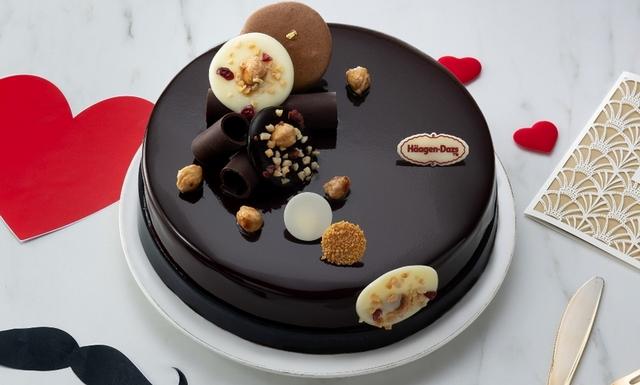 Häagen-Dazs 融情巧克力 2,180元(7英吋)、2,780元(10英吋 )