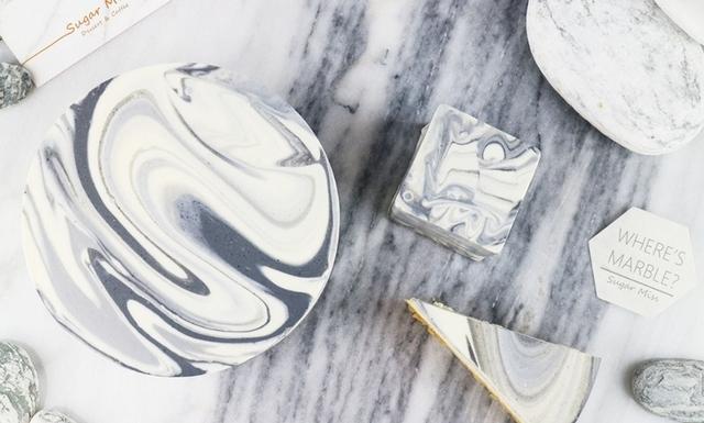 Sugar Miss 黑白大理石乳酪蛋糕 600元(4吋) / 1,250元(6吋)/ 2,400(8吋)