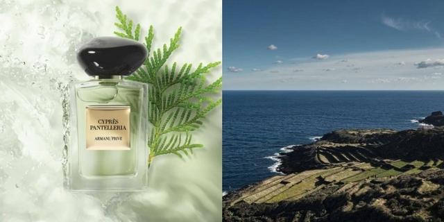 用Armani 全新高訂香水『南義海岸絲柏』,去西西里島重遊一番!感受南義海岸悠遊恣意的渡假風情吧!