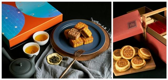 台南晶英酒店 月耀法頌 780元、茗月禮盒 1,680元