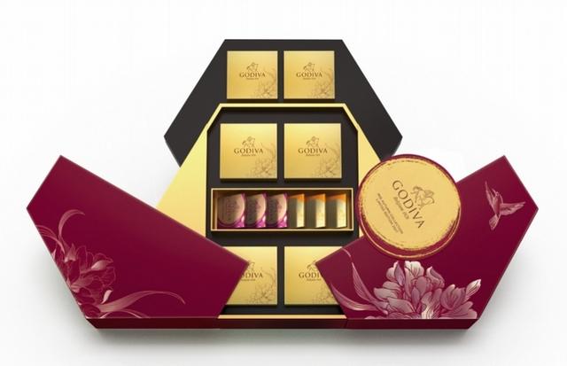 GODIVA 中秋節巧克力禮盒 3,580元(18顆裝)