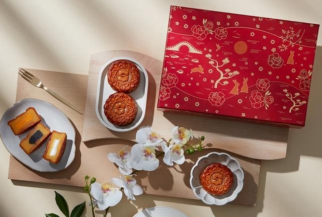 香格里拉台南遠東飯店 花紅奶黃月餅禮盒 1,188元