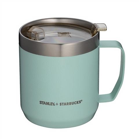 STANLEY碧波綠 不鏽鋼把手杯 1,150元