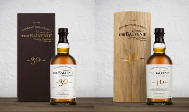 百富The Balvenie 30年單一麥芽威士忌、40年單一麥芽威士忌(價格請洽直營私藏酒窖)