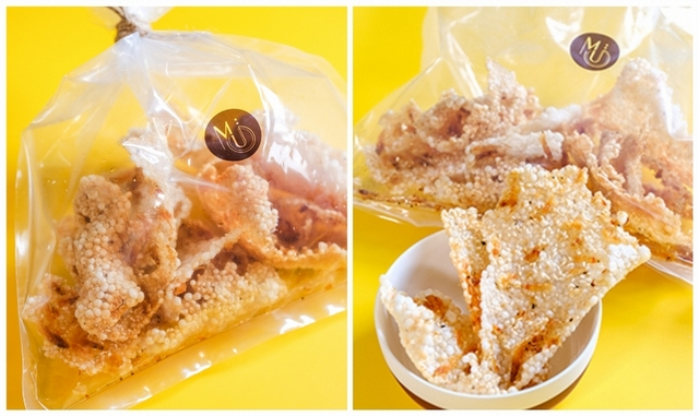 Mu: Taipei 沐目 特製手工櫻花蝦米餅