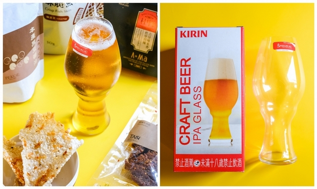 KIRIN 麒麟 德國水晶啤酒杯(贈品,容量581ml)