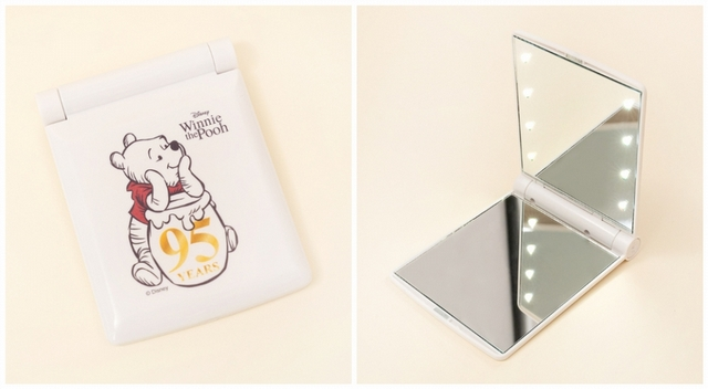 LED補光折疊方鏡