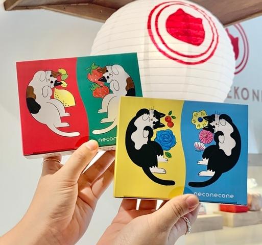 日本舞扇堂 貓貓餅乾禮盒 330元(4入)