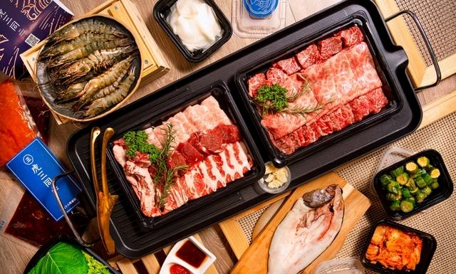 虎三同 和牛燒肉組 4,700元