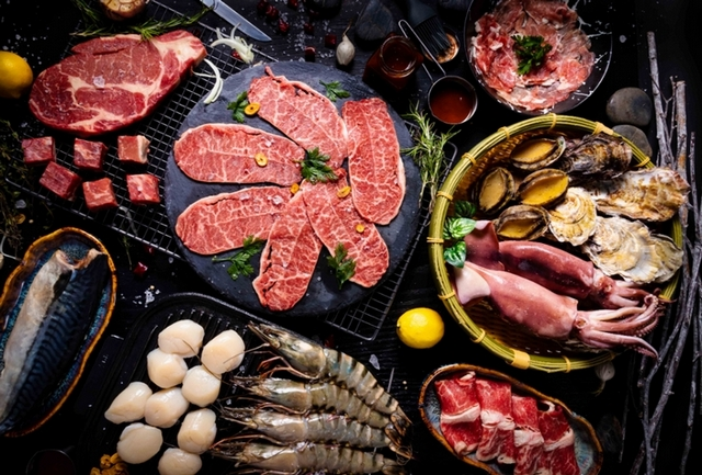 台南老爺行旅 中秋燒烤生鮮食材箱 3,680元(4人派對組)