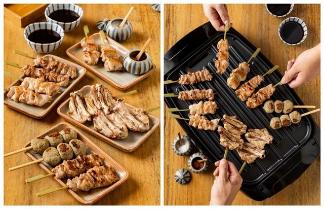 台北鳥喜 精選雞肉串燒禮盒 1,200元(2人份)