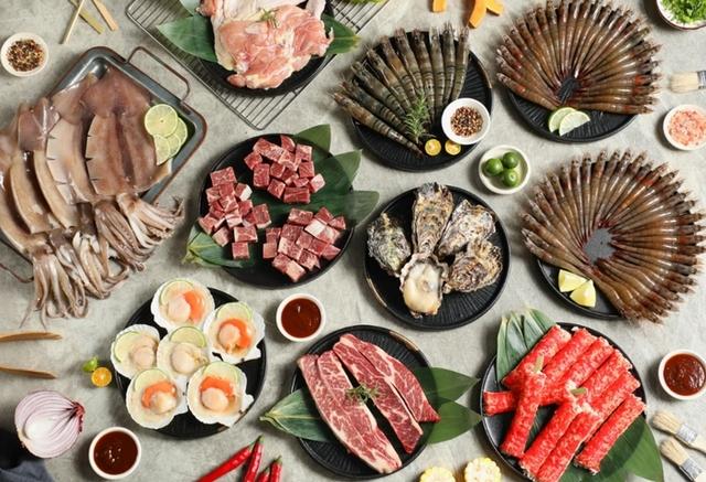 佐佐鮮 澎湃海陸燒烤宴 3,605元