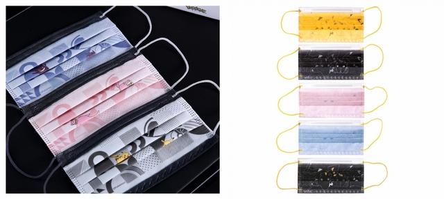 寶可夢幾何口罩(5種款式-30入) 599元 / 寶可夢線圖口罩30入(5種款式-30入) 599元
