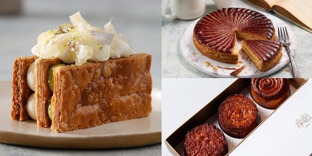 全台7家人氣千層甜點推薦!芋頭流沙國王派、濃郁肉桂捲、巨型荔枝可頌必吃,麵包控每款都要吃