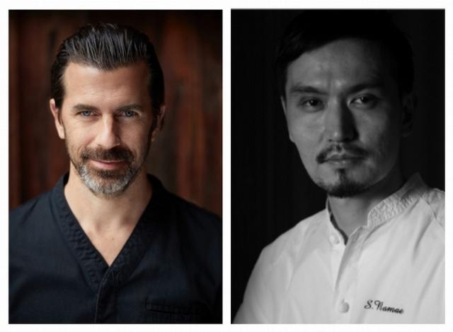 【Schloss Schauenstein】Chef Andreas Caminada、【L'EFFERVESCENCE】Chef Shinobu Namae