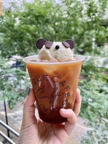熊貓漂浮黑咖啡 160元
