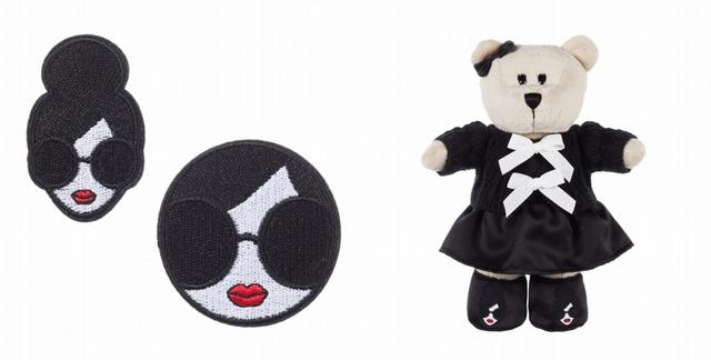 AO RAINBOW布章組 420元、AO風格熊寶寶 1,280元