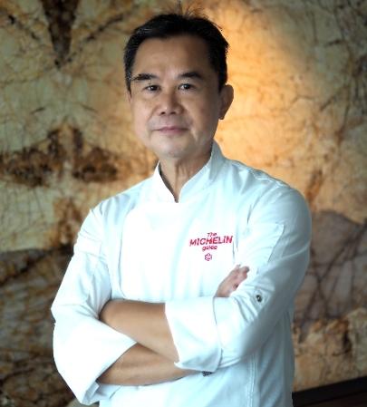 「捌伍添第」由米其林星廚謝文坐鎮掌杓,出身自香港富豪食堂「福臨門」、擁有超過50年廚藝經驗,匯聚豐沛風味展現好菜。