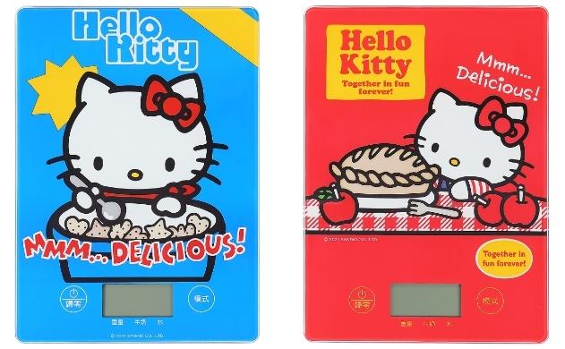 Hello Kitty料理秤 890元(紅、藍)