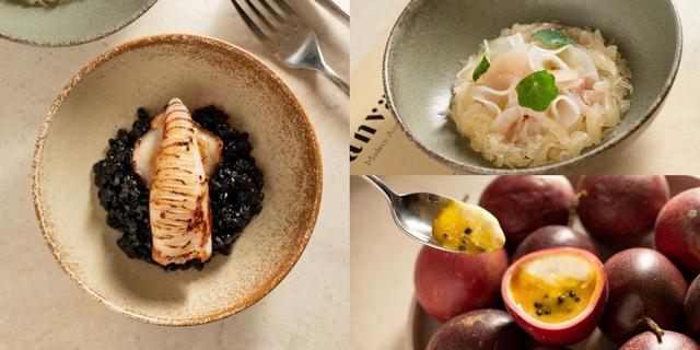 台北東區澳洲海鮮料理「CANVAS」由米其林星廚規劃菜單!小卷墨魚飯、酸奶鬼頭刀必吃,不定期換新菜天天吃都推薦