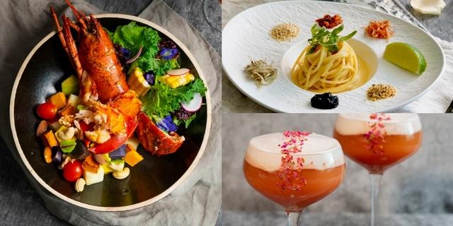 微兜變身2.0古堡風餐廳「Pd by petit doux」主打波士頓龍蝦能量蔬果盆、風味義大利麵,開幕首三天送香水調酒