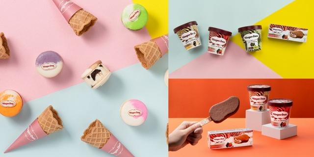 Häagen-Dazs全新推出「TWIST & CRUNCH雙享巧脆系列」主打雙重口味,推薦冰淇淋控3款通通都包起來