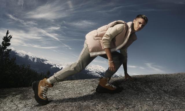 Canada Goose首波鞋履誕生 羅密歐貝克漢秀新鞋 帥度完全不輸老爸
