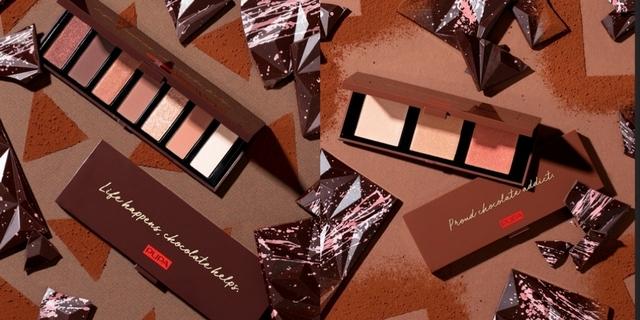 #甜點控必收 超解饞的零卡巧克力!滿滿巧克力香的彩妝盤,同場加應25色彩妝盤,全臉包辦每色平均不到百元好划算!