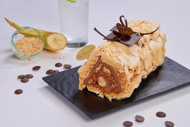 香蕉巧克力蛋白霜蛋糕