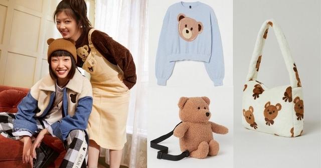 讓人想全部打包!H&M Divided小熊系列一次看:熊熊揹包根本少女最愛