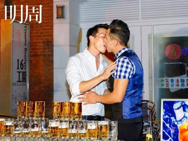 鄭人碩男男吻超有fu 入戲太深女友喊ㄘㄟˋ