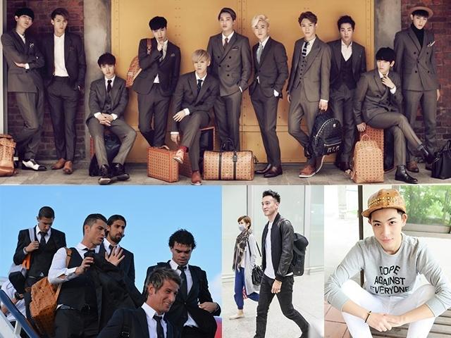 EXO、GD、晨翔都喜歡!MCM 台灣第三間專賣店正式落角101