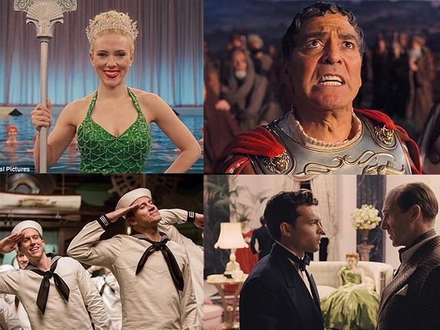 史考莉喬韓森化身超性感人魚 攜手查寧坦圖 喬治克隆尼一同揭開好萊塢明星私生活