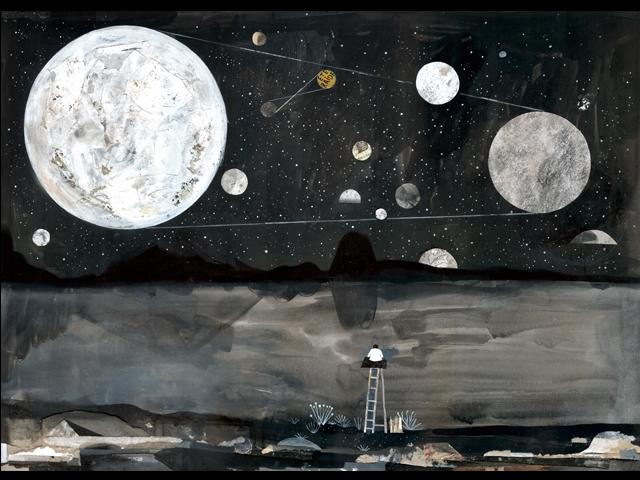 達姆〈Altiplano 2〉,140x100cm,複合媒材