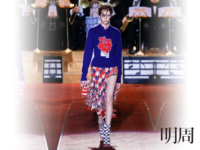 2016春夏紐約時裝周:Marc Jacobs重現齊格飛女郎