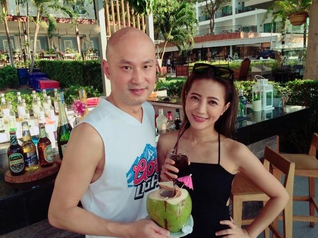 黃美珍偕老公遊泰國 拍MV頻喊「溫昇豪」