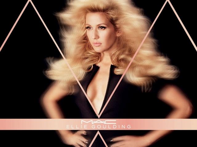 M.A.C. x艾莉高登Ellie Goulding聯名彩妝系列登場