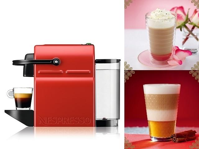 Nespresso幸運紅咖啡機+新春咖啡特調大公開