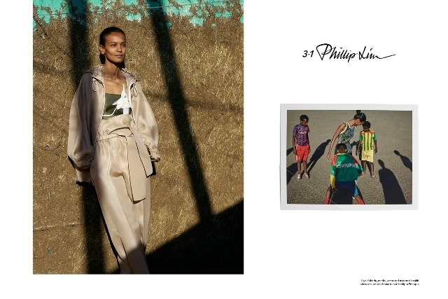 超模Liya Kebede全家福登上3.1 Phillip Lim春夏廣告