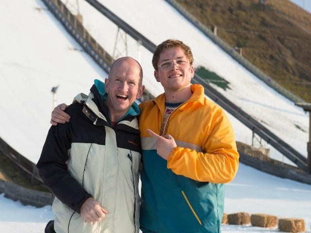 獲休傑克曼抬轎 泰隆艾格頓甘願跳台滑雪