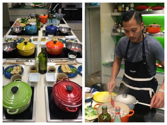 法式鑄鐵彩鍋燉煮的家常回憶:跟著Baggio學眷村料理