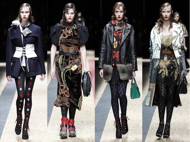 2016秋冬米蘭時裝周:Prada  找尋自我的旅程